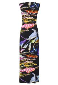 James Lakeland Sleeveless Print Maxi Dress