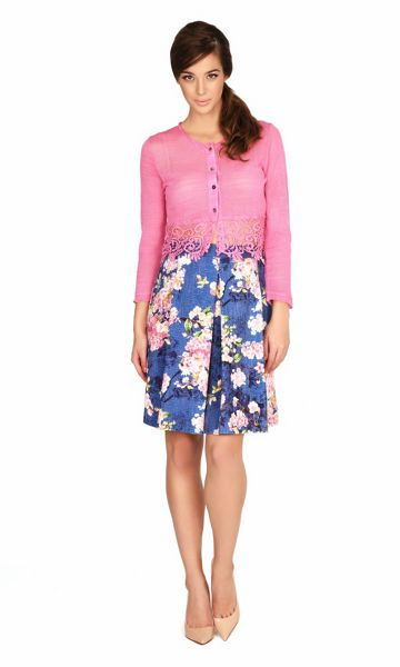 James Lakeland Floral Print Skirt