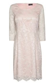James Lakeland Round Neck Lace Dress