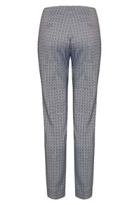 James Lakeland Geometric Jacquard Trousers