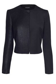 James Lakeland Contrast Fabric Jacket