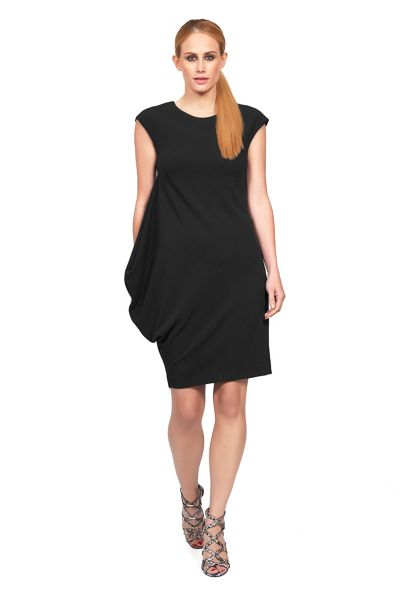 James Lakeland Asymmetric Sleeveless Dress