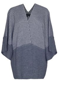James Lakeland Stripe Knit Cape