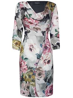 James Lakeland Print Front Zip Dress