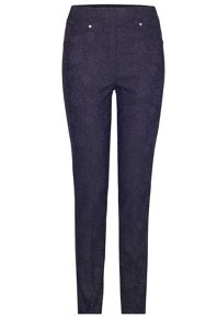 James Lakeland Textured Pattern Trousers
