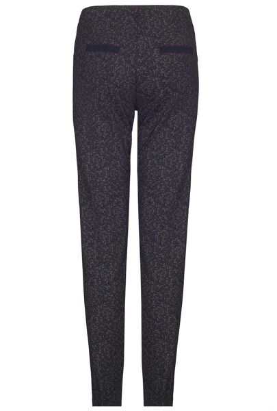James Lakeland Printed Stretch Trousers