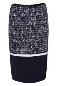 James Lakeland Tube Panel Print Skirt