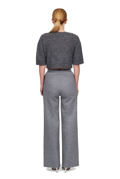James Lakeland High Waist Wool Trousers