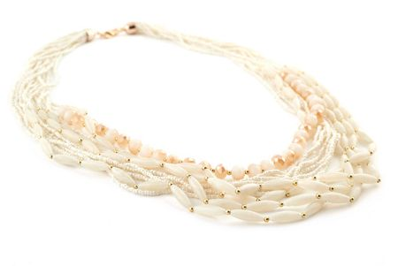 James Lakeland Long Beaded Necklace