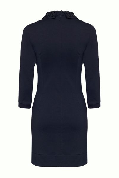 James Lakeland Dress With Embellished Collar