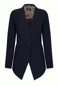 Tailored Dim Hem Blazer