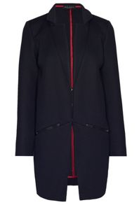James Lakeland Honeycomb Zip Pocket Coat