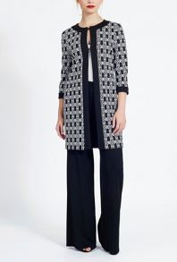 James Lakeland Long Jacquard Jacket