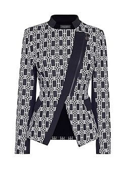 Diagonal Zip Jacket
