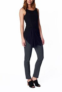 James Lakeland Sleeveless Top With Drape
