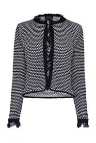 James Lakeland Fringe Knit Jacket