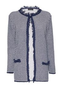 James Lakeland Fringe Knitted Jacket