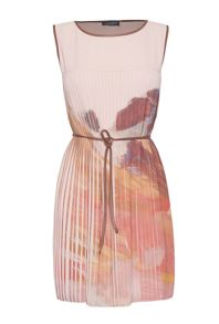 James Lakeland Pastel Print Pleat Dress