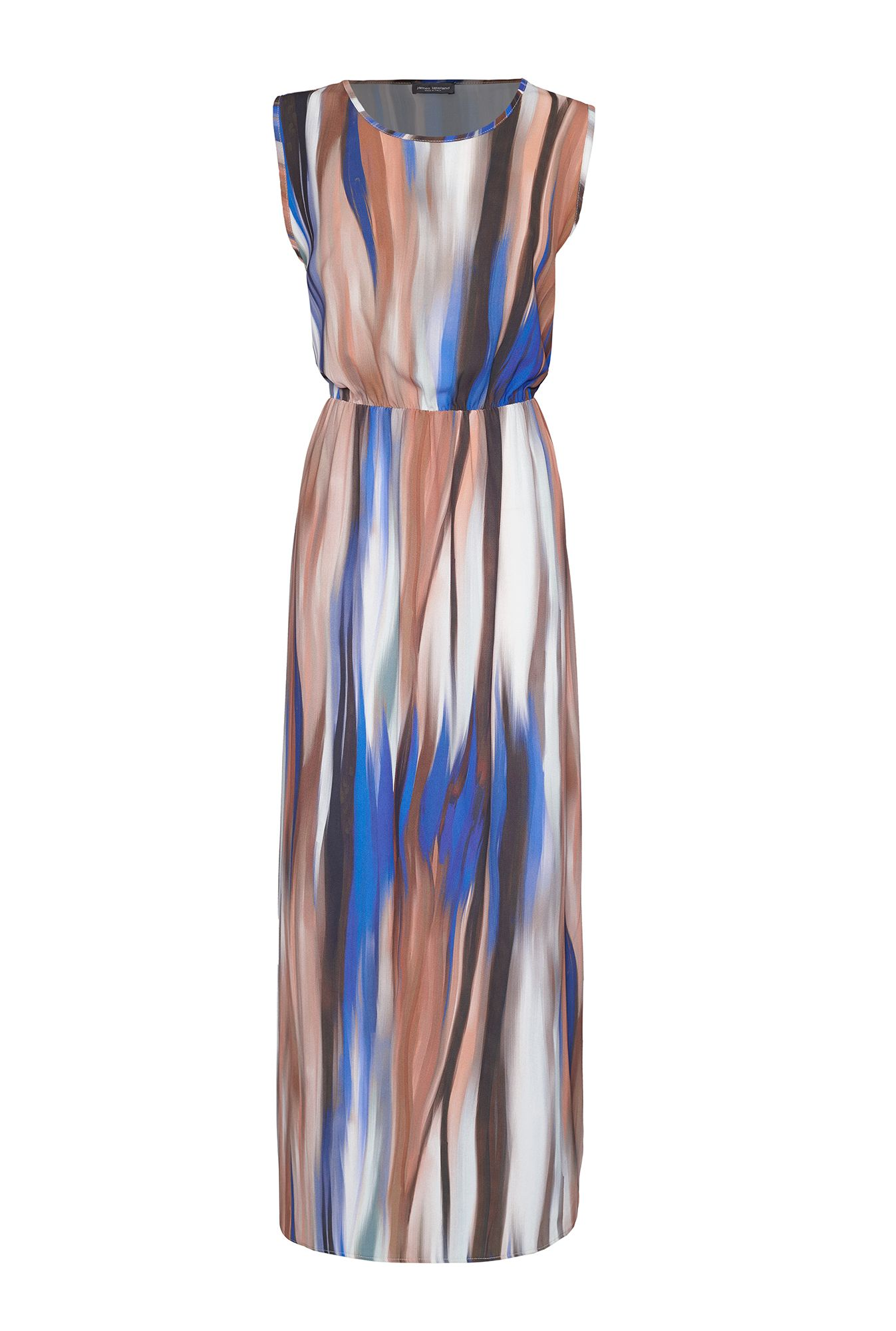 James Lakeland Print Maxi Dress, Blue
