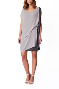 James Lakeland Bicolour Chiffon Dress