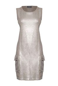 James Lakeland Metallic Shine Dress
