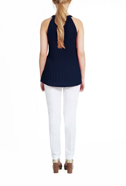 James Lakeland Pleated Bow Top