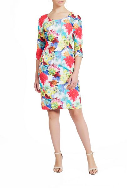 James Lakeland Floral Print Dress