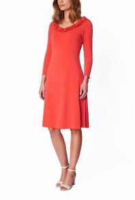 James Lakeland Rose A Line Dress