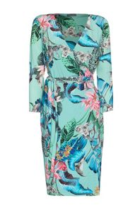 James Lakeland Print Wrap Dress