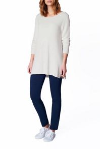James Lakeland Textured Side Slit Knit