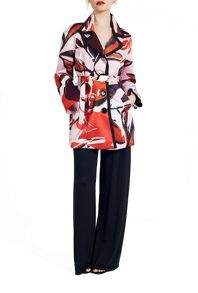 James Lakeland Abstract Print Coat