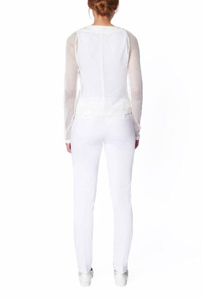 James Lakeland Sheer Mesh Zip Jacket