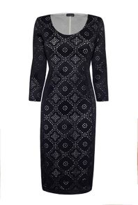 James Lakeland Laser Cut Dress