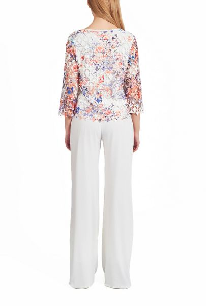 James Lakeland Embroidered Crochet Top