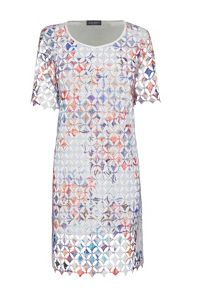 James Lakeland Embroidered Crochet Dress