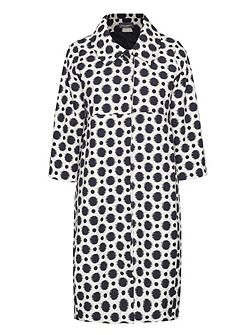 Polka Dot Long Coat