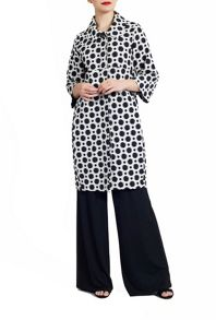 James Lakeland Polka Dot Long Coat
