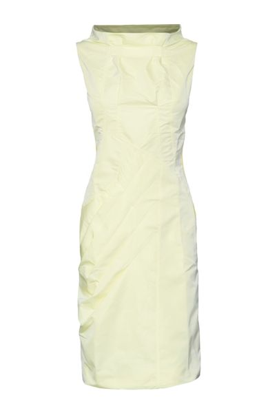 James Lakeland Taffeta Cowl Neck Dress
