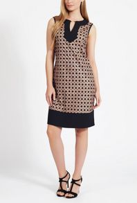 James Lakeland Laser Cut Sleeveless Dress
