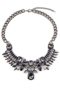 James Lakeland Crystal Collar Necklace