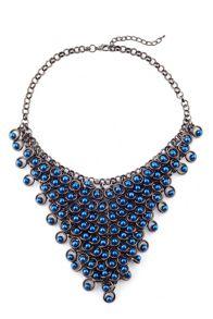 James Lakeland Pearl V Collar Necklace