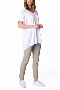 James Lakeland Oversized T-Shirt With Dip Hem