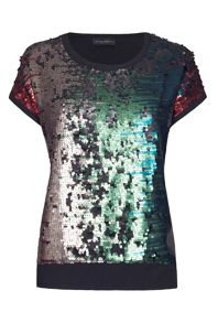 James Lakeland Sequin Blouse