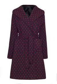 James Lakeland Pattern Coat With Hood