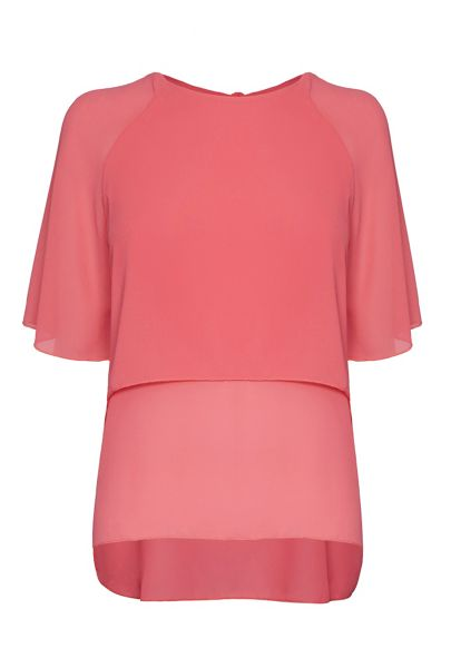 James Lakeland Doubled Chiffon Top