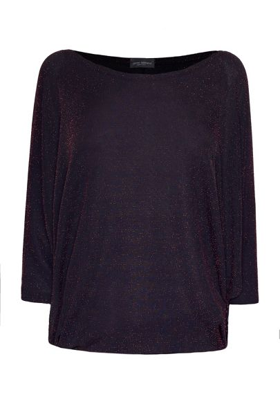 James Lakeland Bat Sleeve Lurex Top