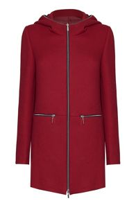 James Lakeland Hooded Coat With Zips