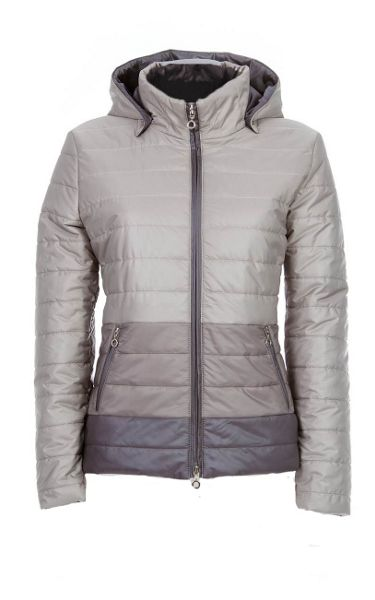 James Lakeland Short Puffer Jacket With Hood