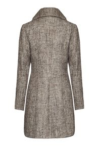 Textured Fabric Coat