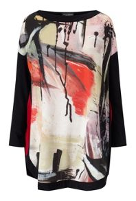 James Lakeland Print Long Sleeve Top